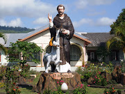 Patung St. Dominikus di Seminari Hokeng