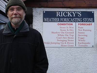 Too Much Complexity! I Like The Simplicity Of Ricky's Weather Forecasting Stone