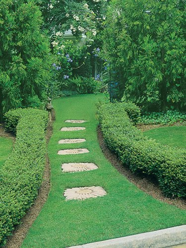 Bloomlicious less lawn more garden paths Types of pathways in landscaping