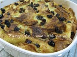 Resep Puding Roti Tape Berempah - Berikut resepnya :