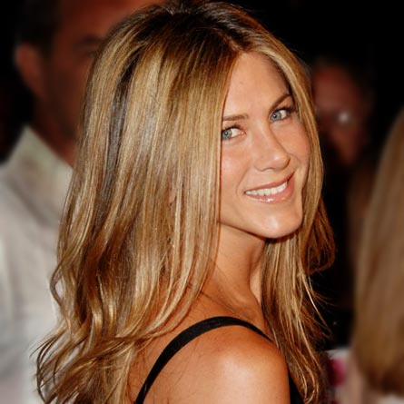 jennifer aniston sedu hair straightener
