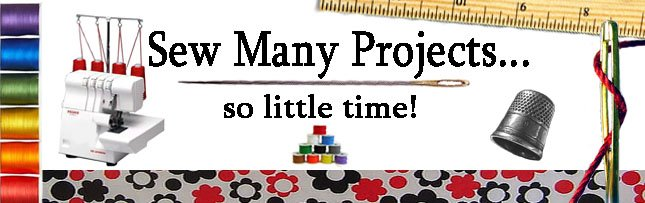 Sew Many Great Projects, So Little Time