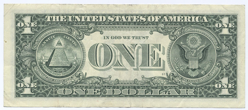 american 1 dollar bill illuminati. american 1 dollar bill