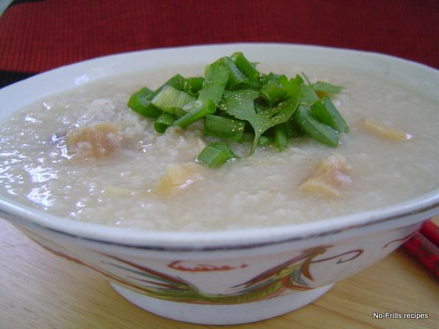 ... ... cooking, baking & excerpts on travel: Chicken Porridge ~ Congee
