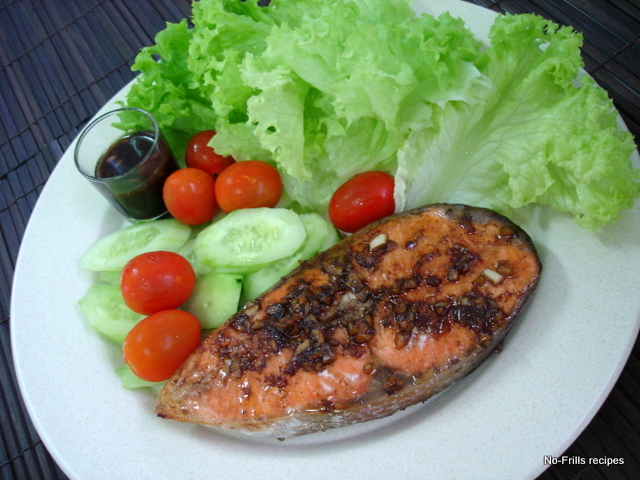 ... ... cooking, baking & excerpts on travel: Balsamic-glazed Salmon