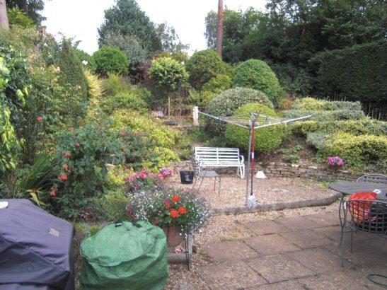 A Life Designing Sloping Garden in Gerrards Cross