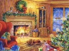 estou na troquinha de Natal