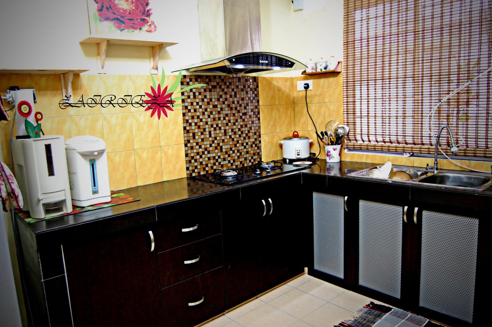 Dekorasi Dapur Rumah Teres