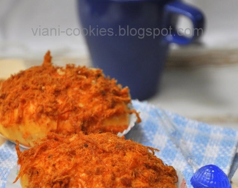 viani cookies roti abon ala bread talk