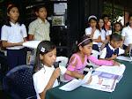 """""""La Ruta Escolar de la mano con Tricolor"""" 07/05/2010 desde la Misión Cultura municipio Páez."""