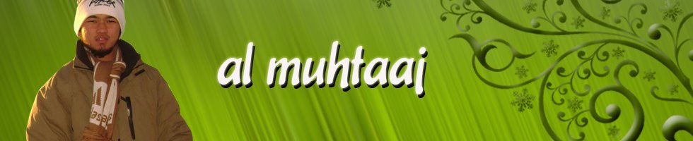 =al-muhtaaj=