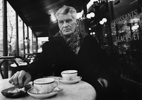 "The praiser of unhappiness, Samuel Beckett, advise us to ""Try again. Fail again. Fail better"""