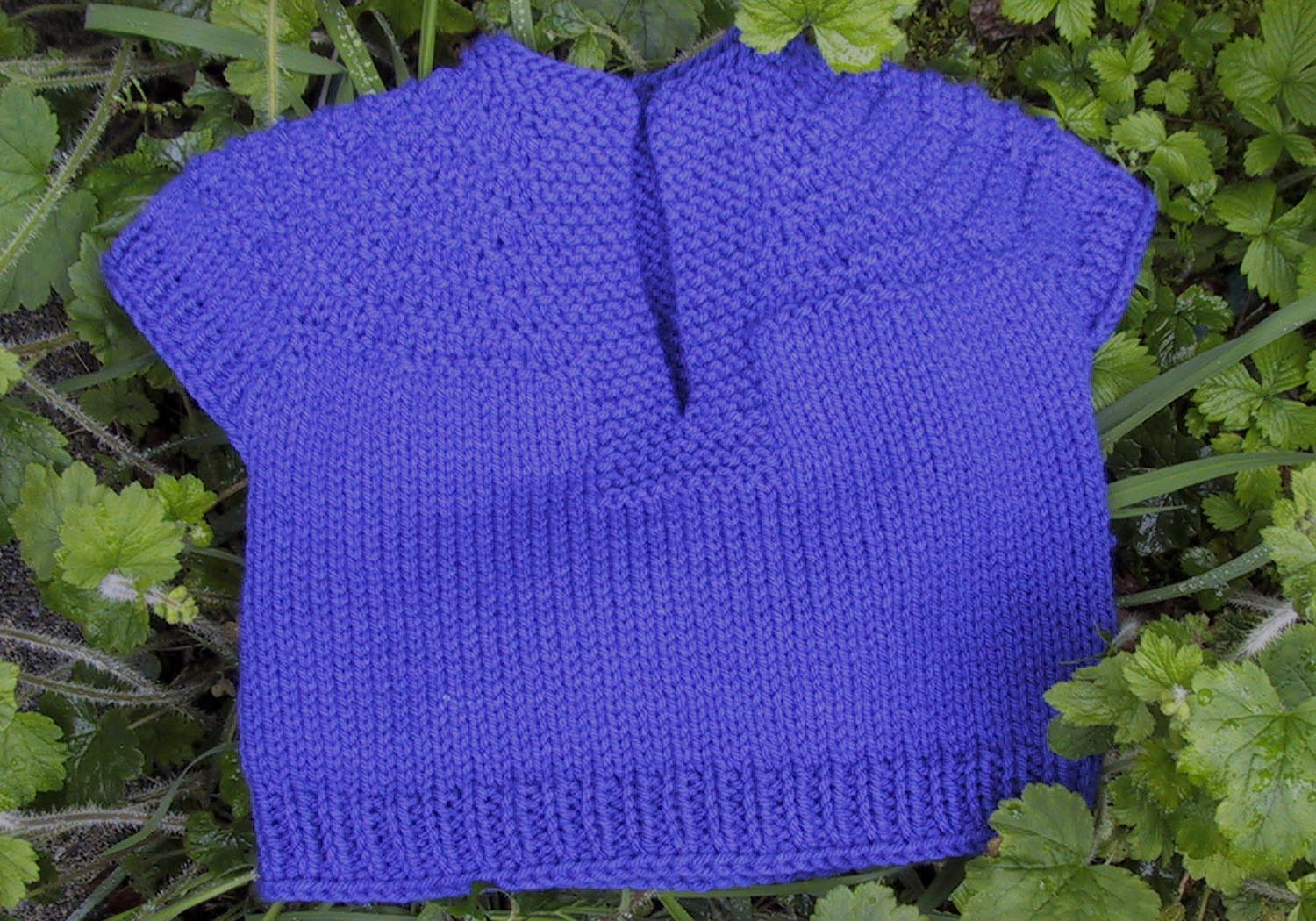 Free Knitting Patterns For Toddler Pullovers : Suzies Stuff: TODDLER SHORT SLEEVED PULLOVER
