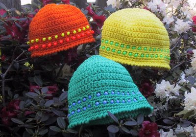 Lotsa Beads Adults Beanie Free Crochet Pattern from the ...