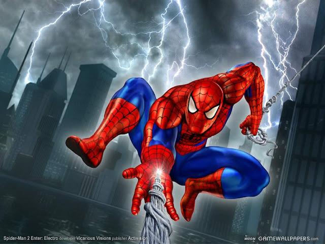 foto spiderman