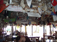 Foxy's bar on Jost Van Dyke, B.V.I.
