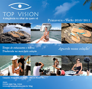 Campanha da Top Vision para o verão 2011