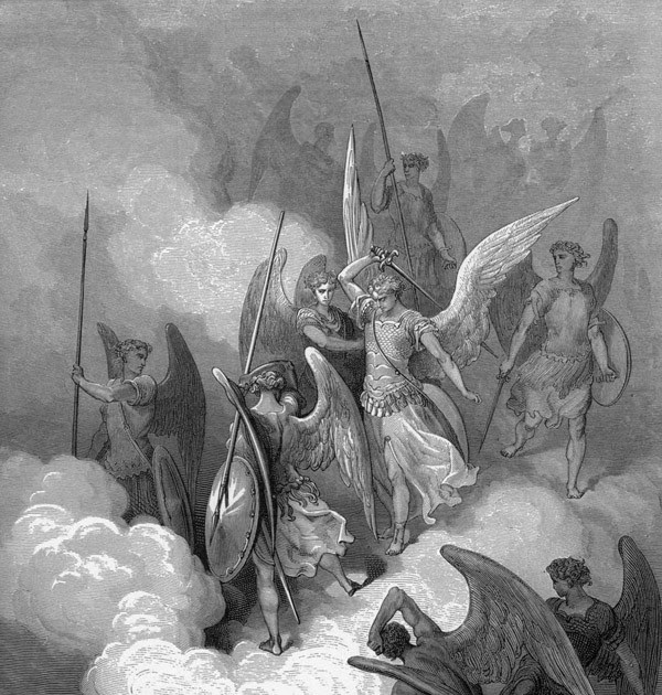 Lucifer Malaikat: PERTEMPURAN BESAR DI SURGA