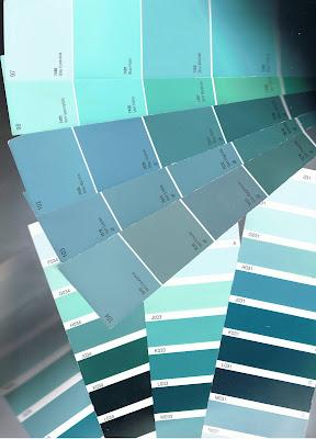 Sens interieur quel papier peint for Peinture murale tendance vert bleu