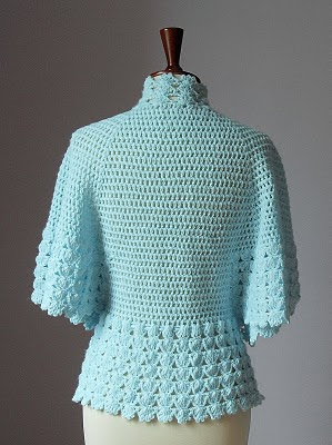 Knitting Pattern For Shawl Bed Jacket : SHOULDERETTE BED JACKET KNITTING PATTERNS FREE PATTERNS