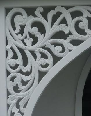 Kerawang motifs from the Masjid Kristal Kuala Terenganu