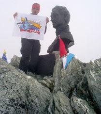 En la Cumbre del Bolívar