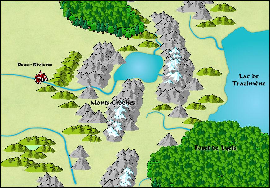La route des Croche Monts Monts+Croches