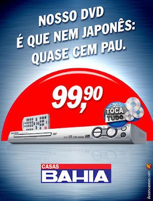 Propaganda Casas Bahia