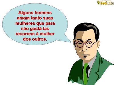 sabedoria oriental - homens no gostam de gastar suas mulheres