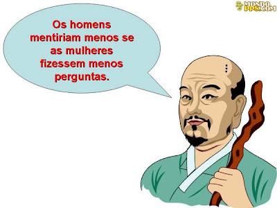 sabedoria oriental - mentira dos homens