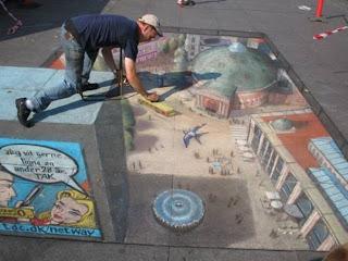 Desenhos na calçada pintados por Julian Beever 14