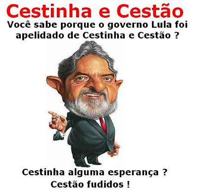 Lula: Cestinha e cestão