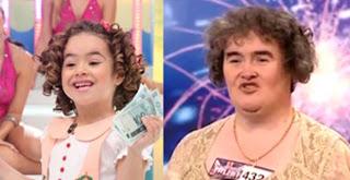 Maisa e Susan Boyle são muito parecidas mesmo