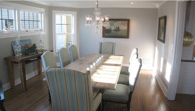Willow decor beach house renovation with a twist for New england dining room ideas