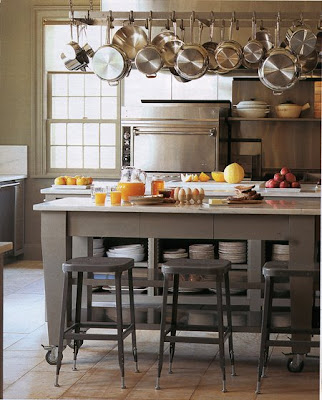 Willow Decor: Industrial Kitchen Stools For All Styles