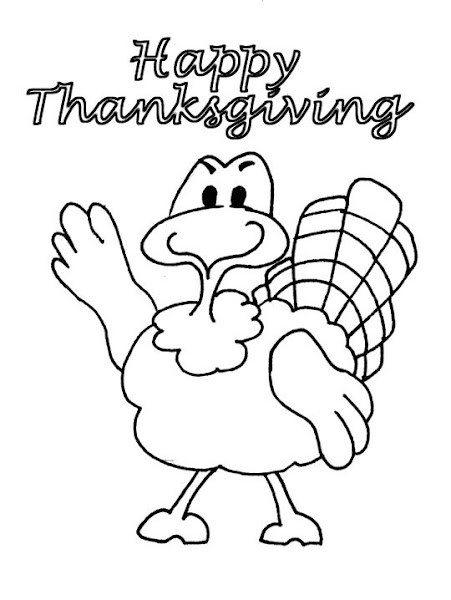 Turkey Feathers Coloring Pages