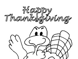 Cooking Turkey Coloring Page