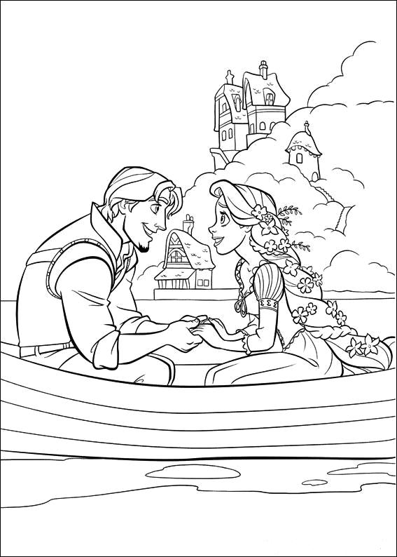 tangled poster coloring pages - photo#8