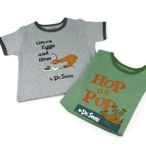 Tee Shirts of Dr Seuss