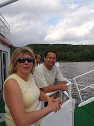 connie and joe on the boat