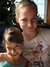 Claire and me at breakfast