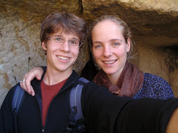 phil and me at a cave