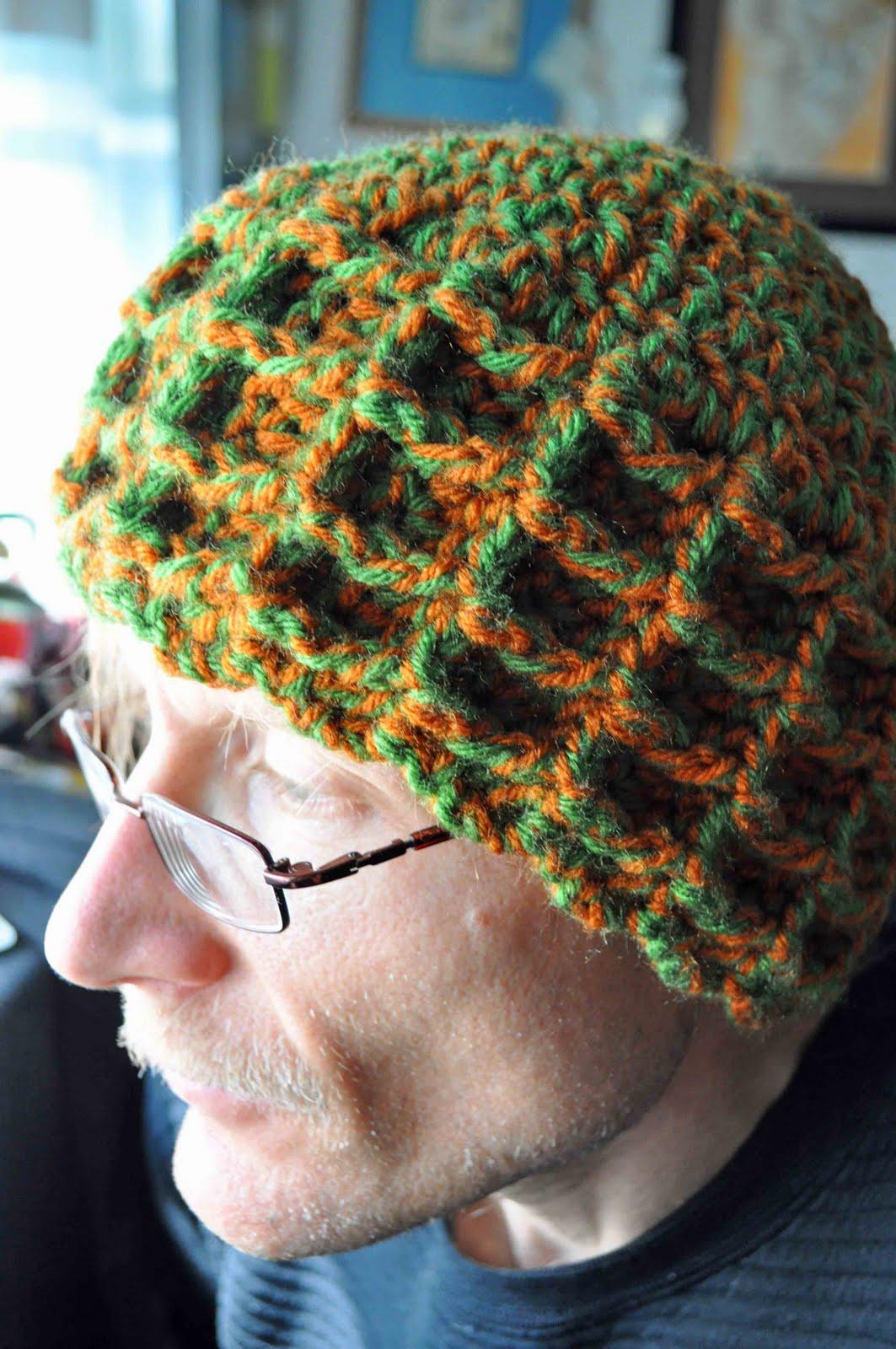 Waffle Stitch Knit Hat Pattern : Waffle Stitch Winter Hat A Girl and Her Yarn