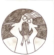 """de la serie """"Mujeres cósmicas"""""""