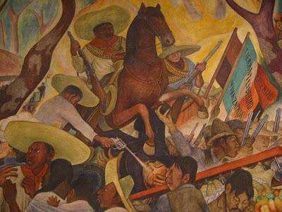 Revolucion Mexicana Mural la Revolución Mexicana