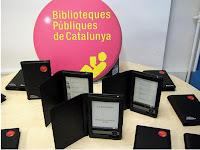 E-books que la Generalitat de Catalunya repartira entre 20 bibliotecas públicas