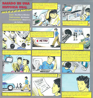Historieta sobre la ley de propiedad intelectual