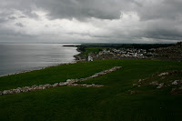Vistas desde el castillo de Criccieth