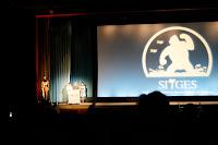 Nakashima presentando su película Kokuhaku en Sitges 2010