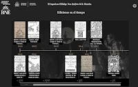 Timeline del Quijote de la Mancha de Cervantes